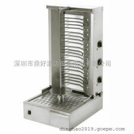 商用乐桥中东电力烧烤炉ROLLER GRILL GR 60E 立式旋转烤肉炉