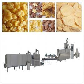 健康早餐玉米片生产线 冲泡谷物片生产加工机械设备