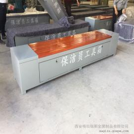 格拉瑞斯保洁员工具箱 来图定制厂房专用清洁工具箱 送货上门
