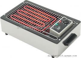 法国商用两相电石子烧烤炉ROLLER GRILL 140 火山岩电烧烤炉