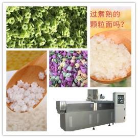 果蔬空心小花面生产线 宝宝辅食海螺面加工机器 小花面膨化机