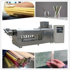 塑料吸管替代品可食用的大米吸管生产设备 大米吸管成型机
