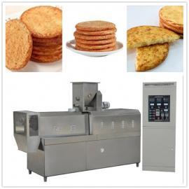 多口味酱油饼干生产线 非油炸膨化酱油米饼生产加工设备