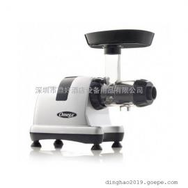 美国欧米伽研磨机 榨汁机Omega J8227 横式低速榨汁机(白色)