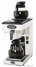 商用瑞典皇后咖啡机QUEEN M-2 手动型双盘咖啡机(配咖啡壶)