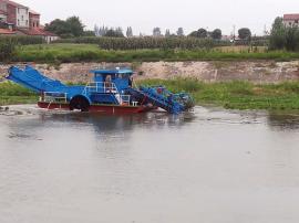 水草收集船 芦苇收集船 水葫芦收集船 水浮莲收集船