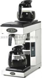 进口美式咖啡机瑞典皇后牌QUEEN A-2自动型双盘咖啡机(配咖啡壶)
