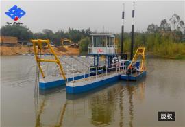 河道清淤船 水下通阻排污设备 绞吸式挖泥船