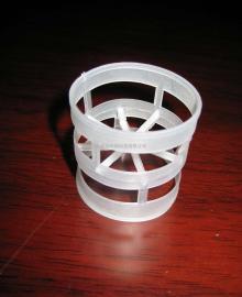 优质PP塑料鲍尔环填料 聚丙烯环形环保填料