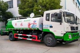 国六东风20吨喷雾洒水车抑尘喷雾车