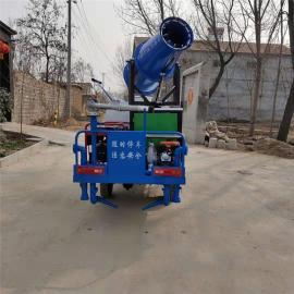 新能源环保电动三轮洒水车电动车载雾炮洒水车道路降尘降湿除尘
