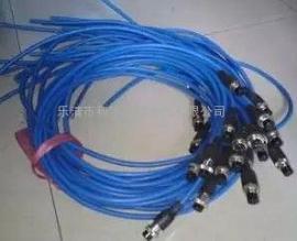 和宇防爆矿用传感器用航空插头 4芯带线 航空插头连接线 连接器