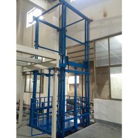 东圣 导轨式链条升降货梯 导轨式升降机货梯