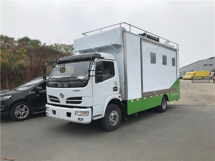 4.2米大型流动餐饮车