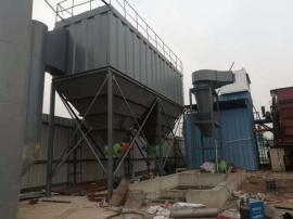铸造厂冲天炉采用离线脉冲反吹布袋除尘器