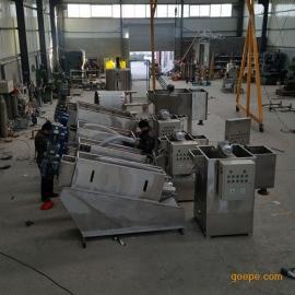 不锈钢叠螺污泥脱水机用在什么工况