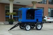 400A柴油发电电焊机有带内燃的拖车吗