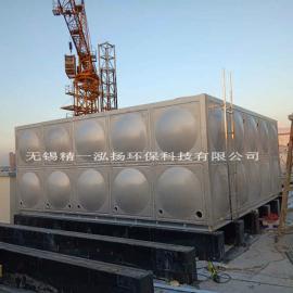 精一泓扬牌304不锈钢保温水箱大量应用于太阳能热水工程 效果好