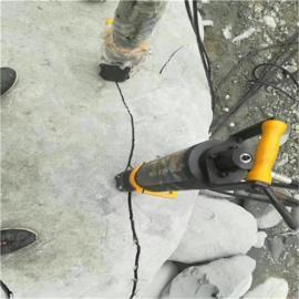 取代大挖机破石头液压劈石机