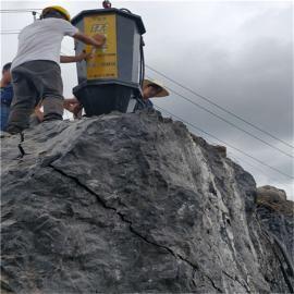 采石场二次破大石头劈裂机