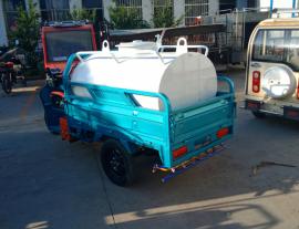 小型新能源电动三轮洒水车,环保工程绿化工地除降尘,高射雾炮