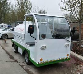 电动四轮洒水车,新能源洒水车,小区降尘,多功能小型雾炮洒水