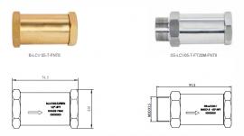 LCV05系列进液单向阀、B-LCV05-T5FNT8、SS-LCV05-T-FT20M-FNT8