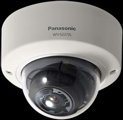 松下智能自动化摄像机|WV-S2270LH|IA人脸识别监控半球