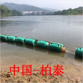 水电站螺栓固定夹铁片高强度两半片实心拦污浮排