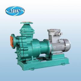 江南ZCQ40-32-160塑料自吸磁力泵 防爆循环耐酸碱水泵