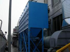 脉冲单机滤筒除尘器采用高效滤芯自动清灰