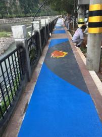 景观道路聚合物彩浆路面胶粘剂