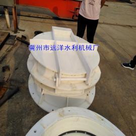 HDPE复合材料拍门阀