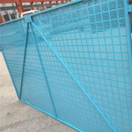 爬架网片生产-优质爬架网片报价厂-金属板爬架网制造商
