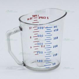 美国进口CAMBRO 量杯 500ml 塑料不碎量杯 聚碳酸酯量杯