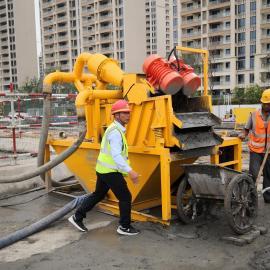 桩基泥沙分离机 打桩专用泥浆净化装置图片大全