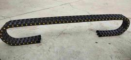 嵘实三工序木工雕刻机塑料拖链,25系列桥式塑料拖链