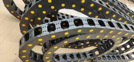 砌砖机塑料拖链,全自动设备电缆行走导向塑料拖链
