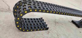 喷涂设备25系列塑料拖链,垂直运行的75塑料拖链