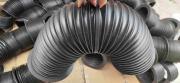 X2500压滤机油缸防尘套<伸缩式领口固定圆形护罩>