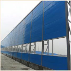 环保直立型声屏障 交通噪声治理 隔音墙材质