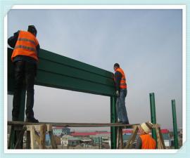 高速公路隔声屏障 隔音墙高度 设计规划声屏障