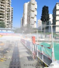 建筑工地塔机喷淋围挡降尘