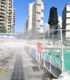 塔吊自动喷淋空气环境雾化除尘系统