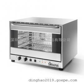 不锈钢电烤箱 SIRMAN 意大利舒文 ALISEO 4 PLUS 旋风式电烤箱