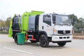 10吨餐厨垃圾车价钱-12方厨余垃圾运输车