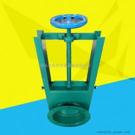 辰奇环保 插板阀 150*150 手动电动气动方口圆口插板阀