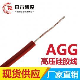 耐高温电缆 伴热复合管线 日木线缆AGG-0.2平方硅胶线