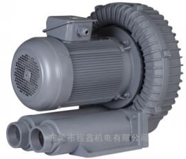 全风5.5KW环形高压风机 RB-077旋涡气泵带消音器