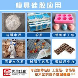加成型模具硅胶优呈环保液体硅胶易操作